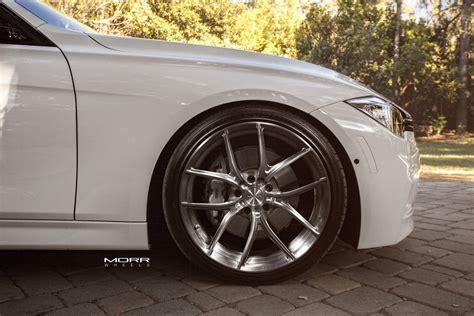bmw f30 aftermarket bmw 3 series f30 on morr wheels