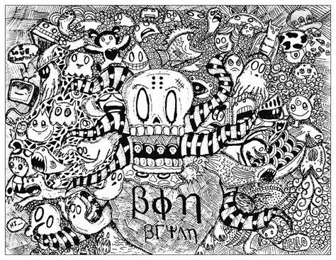 doodle page strange doodle by bon arts doodling doodle