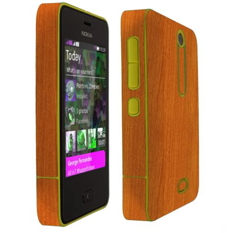 themes in nokia asha 501 skinomi techskin nokia asha 501 light wood skin protector