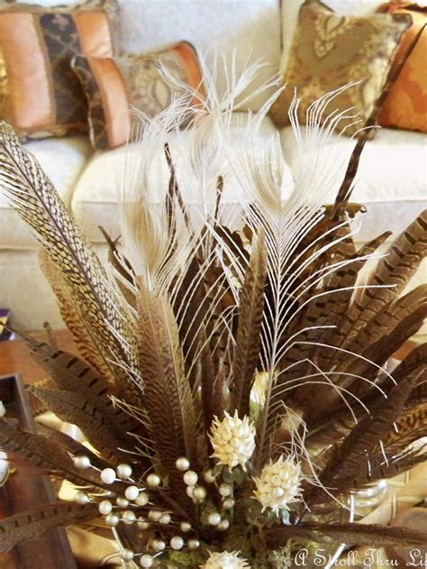 fall centerpieces with feathers 17 best images about pheasant feathers on pinterest fall