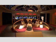 Enterprise-D Bridge at Star Trek The Exhibition - YouTube T 34 Blueprints