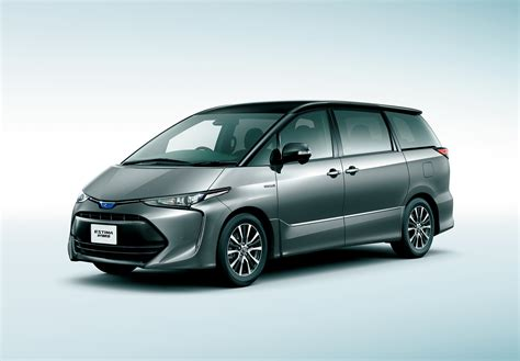 toyota estima 2016 toyota estima facelift unveiled in japan