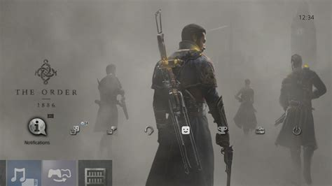 ps4 themes order the order 1886 dynamic theme on ps4 official