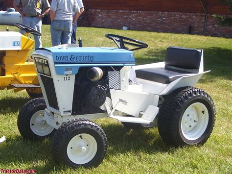 White Garden Tractor by Tractordata White Town Country 112 Tractor Photos Information