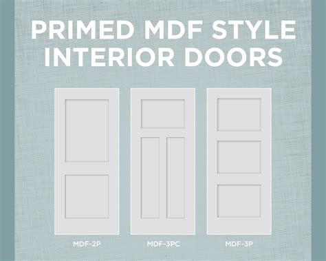 mdf interior doors primed mdf interior doors with true square sticking