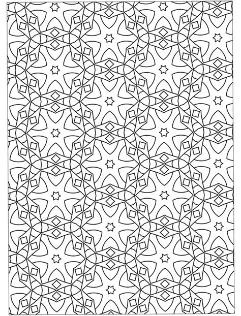 geometric designs to color free coloring pages of geometric designs