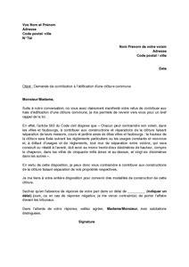 Lettre De Cloture Free Exemple Gratuit De Lettre Demande Voisin Participer 224
