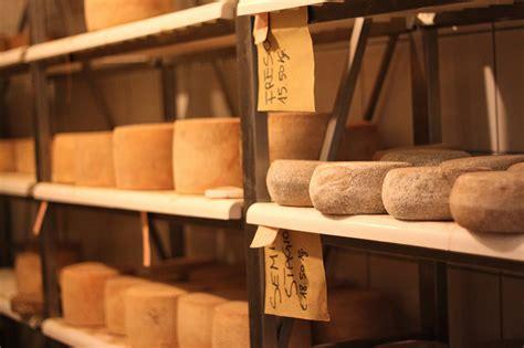 Shelf Cheese by Cheese In Pienza Arttravarttrav