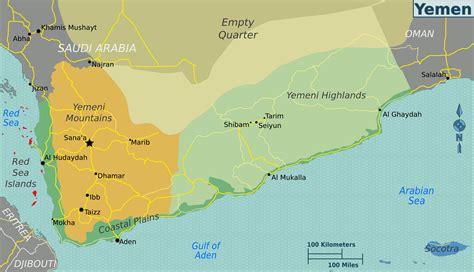 middle east map yemen map of yemen regions worldofmaps net maps and