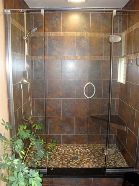 Shower Without Door Or Curtain by Basco Shower Doors