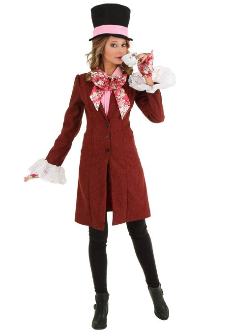 mad for deluxe plus size women s mad hatter costume