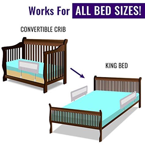 toddler bed rail guard for convertible crib