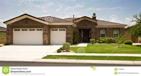 tract home modern southern california stock photography
