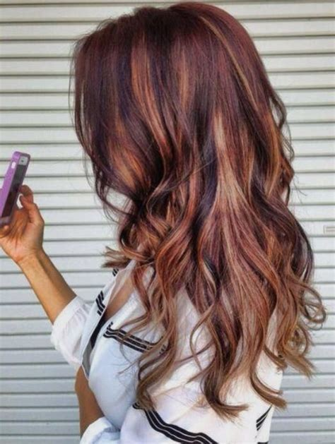 fall highlights for brown hair auburn hair with high and low lights all things hair