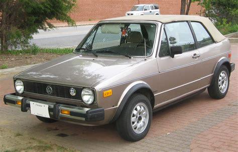 how cars run 1984 volkswagen golf user handbook file volkswagen rabbit cabrio 04 20 2010 jpg wikimedia commons