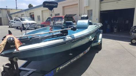 1991 ranger 482v bass boat 7500 ventura county - Bass Boats For Sale In Ventura County