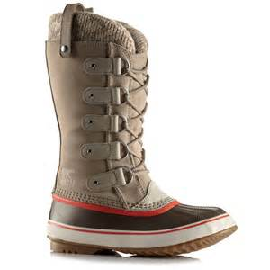 sorel joan of arctic knit boots s evo