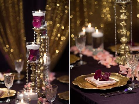 Purple Orchids ? Reception Indian Wedding Decor   Indian