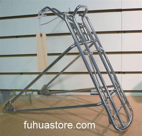 Rear Bike Rack For Cruiser by 26 Quot Micargi Cruiser Bicycle Bike Rear Rack Chrome Ebay