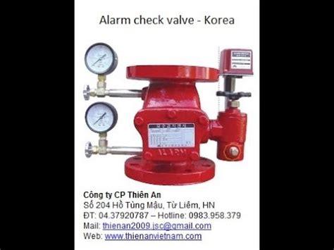 Alarm Check Valve alarm check valve