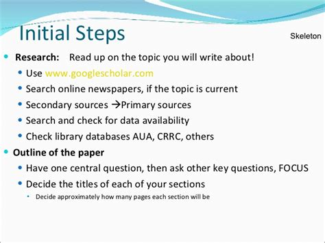 Abbreviated Outline Definition by Technical Writing Skills For Research Paper