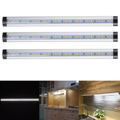 led light bar under 3pcs kitchen under shelf counter led light bar