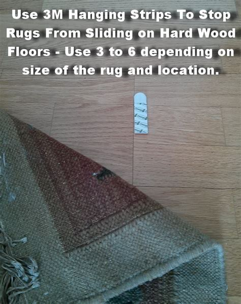 my keeps slipping on hardwood floor how to prevent rugs from sliding on hardwood floors