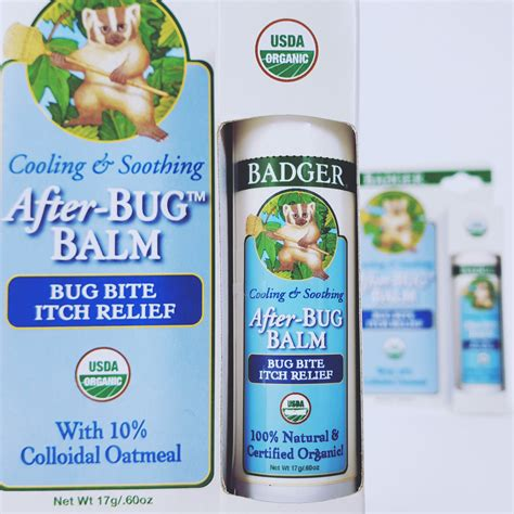Badger After Bug Balm Bug Bite Itch Relief 17 Gr introducing after bug balm badger blogbadger