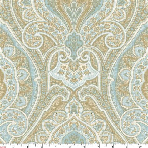 by the yard fabric blue and taupe paisley fabric by the yard blue fabric