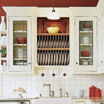 plate rack kitchen cabinet trim out open storage 28 thrifty ways to customize your
