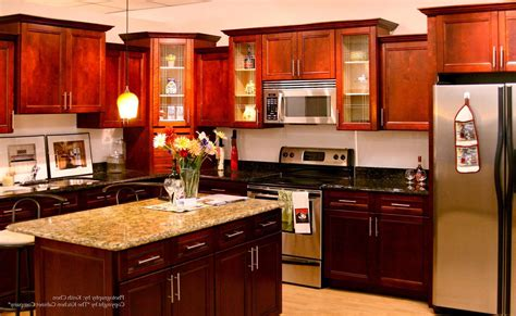 cherry wood kitchen cabinets cherry wood kitchen cabinets granite countertops for