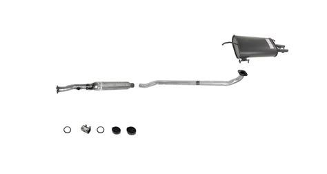 1997 toyota camry exhaust system diagram 1992 1993 toyota camry v6 3 0l 2 4 door muffler exhaust