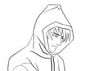 Anime boy outline manga boy free outline by anime boy body structure