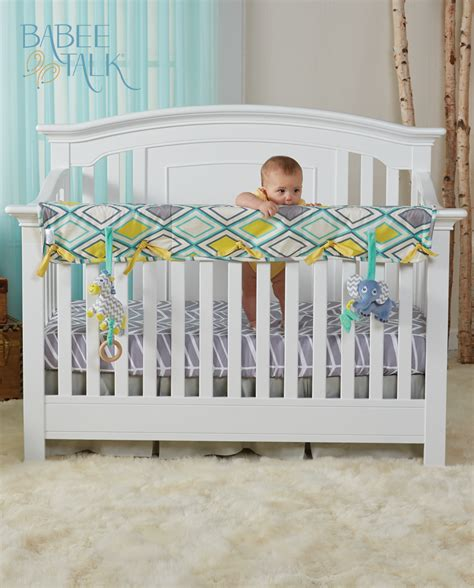 Are Crib Rail Covers Safe by New Resource For Parents Bibb Magazine