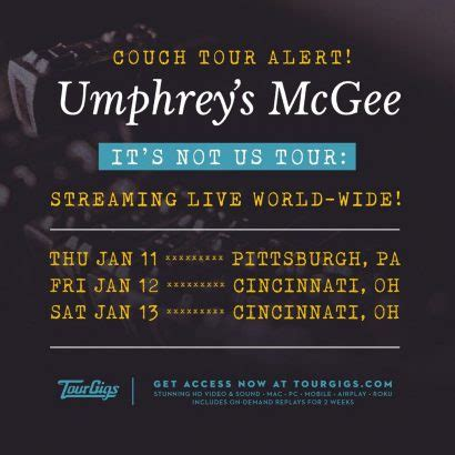 umphreys couch tour news concert news and updates umphrey s mcgee