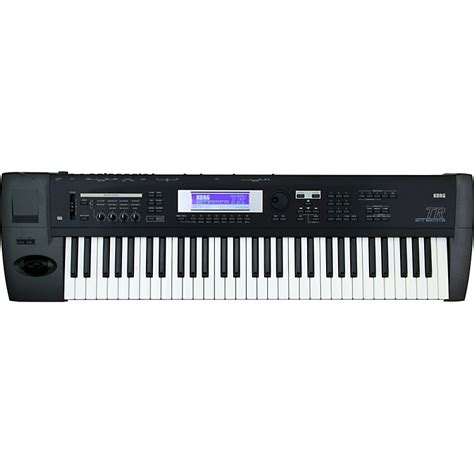 korg tr 61 61 key keyboard workstation musician s friend