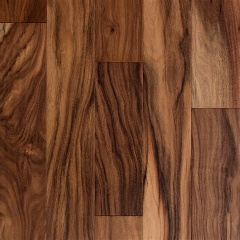shop style selections 5 in natural handscraped acacia hardwood flooring 32 29 sq ft at lowes com