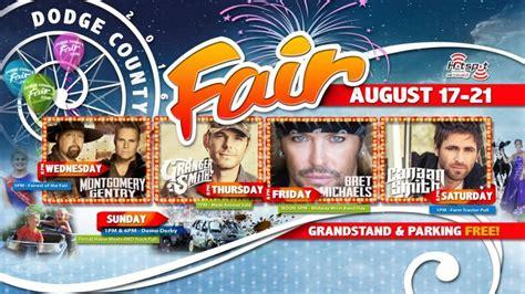 dodge county fair wisconsin dodge county fair concert poster dodge county fairgrounds