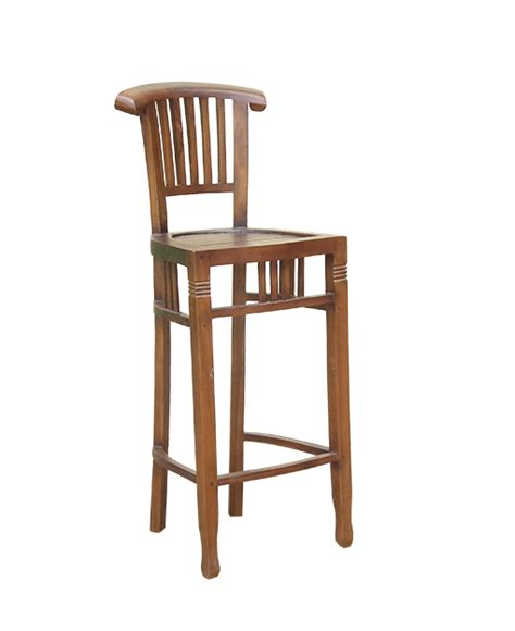 teak bar stools maxwell teak bar stool
