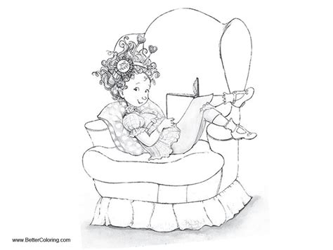 fancy nancy coloring pages fancy nancy coloring pages reading book free printable