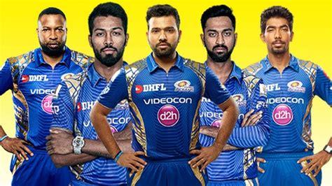 ipl mumbai team players vivo ipl 2018 live cricket streaming online mi vs csk