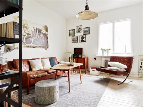 wohnung vintage my scandinavian home monochrome and cognac in a vintage