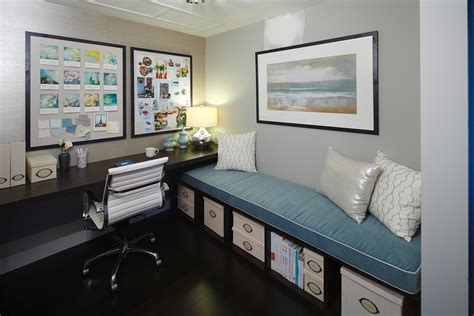 Splashy ikea storage bench convention calgary contemporary home office image ideas with blue