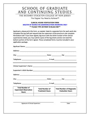 volunteer verification form template volunteer hours verification form fill printable