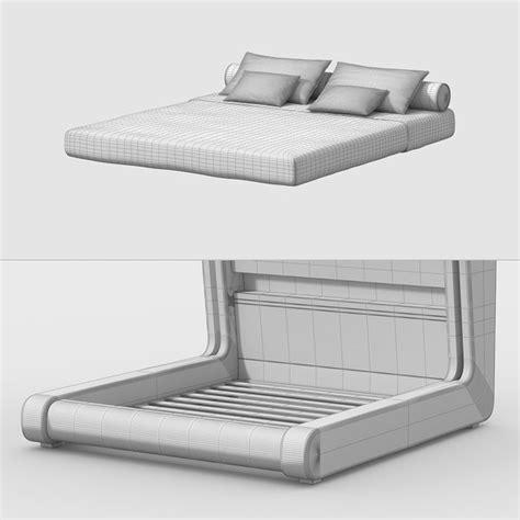 somnus neu futuristic bed 3ds