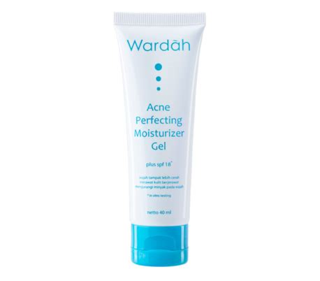 Acne Perfecting Moisturizer Gel halal cosmetics singapore wardah acne perfecting