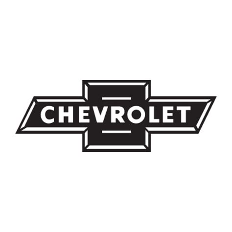 logo chevrolet vector chevrolet black logo vector in eps ai cdr free download