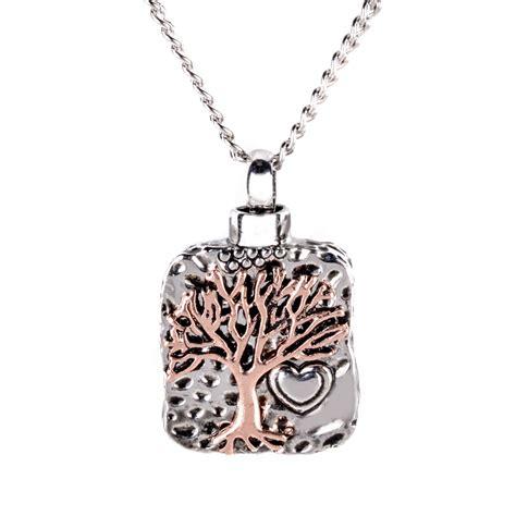 silver urn cremation pendant ash holder mini keepsake