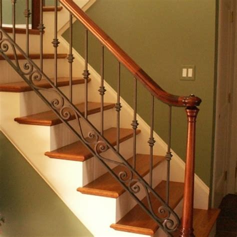 Metal Handrails For Stairs Interior by Interior Iron Railings Iron Railings Interior Stairs