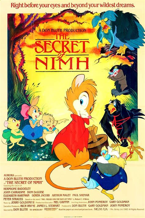 the secret of mrs rats of nimh madigan directs live animated